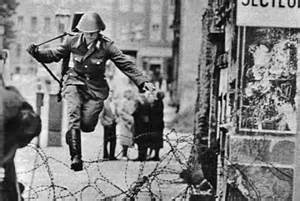 Soldier Escaping from East Berlin